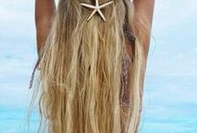 hairstyle on the Beach / nyári frizurák / summer hair