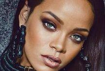 makeup inspiration - Rihanna sminkek