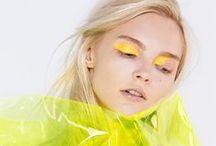 Makeup in yellow - Sárga sminkek