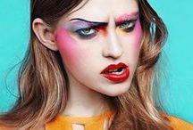 80's makeup inspiration / 80-as évek sminkjei