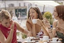 Coffee is Life / A shared Cuppa creates opportunities to meet up, share, smile, love & interact.  Be it an espresso, latte, cappuccino or a flat white, let's meet for coffee in a memorable setting, inspired by European street culture.