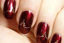 Christmas nails / Karácsonyi körmök