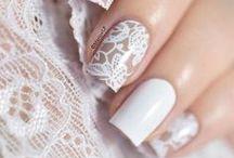 wedding nails / esküvői körmök / esküvői köröm minták