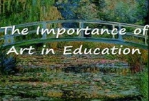 Why Art in Education? / You may wonder why art in education is so important.  These pins explain themselves.
