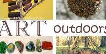 Natural Art / Creating with nature art
