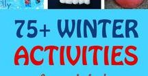 Winter Art & Activities / Winter is filled with beautiful sights and can give simple but fun opportunities to experience art. Consider using these activities for your winter unit study and visit us at http://seethelightshine.com/art