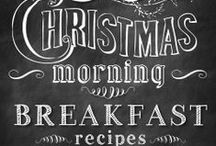 CHRISTMAS BRUNCH / Fabulous ideas and recipes to make your Christmas brunch delicious and memorable!