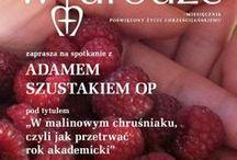 W malinowym chruśniaku, czyli jak przetrwać rok akademicki / Spotkanie z Adamem Szustakiem OP w Wyższej Szkole Bankowej w Poznaniu