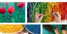 Texture and Sensory Activities / Texture and sensory activities and artistic fun for your homeschool.