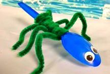 Crafty Crafts / Crafty crafts to keep your children busy.