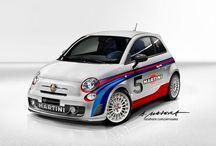 Fiat 500 / by Hein Grobler