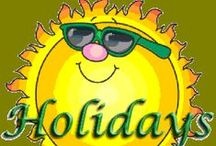 HOLIDAYS / Canna Cascadia Holiday throughout the year ~ Thank you to my followers!!!