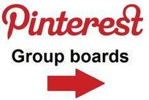 GROUP BOARDS / The boards ahead are all the group boards...ask and we will add you happily! All the beautiful people to share with ~ Pinning is awesome!!!