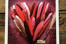 """Lali """"Love story"""" collection / Cartes postales  de Coeurs"""