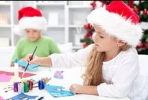 Christmas Art Projects, Activities and Gift Ideas / Christmas is a wonderful time to create art projects and share them with family and friends. Celebrate the birth of Jesus and enjoy the reason for the season through art. Find more resources on our website: http://seethelightshine.com/art