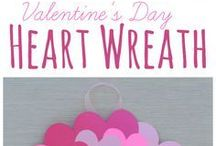 Lovely Valentine Art / Valentine Projects loved by all.