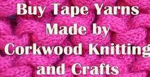Yarns made by Corkwood / This board is about the yarns we make at our workshops in East Sussex.