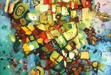 Favorite Art / Art, paintings, beauty.  Awe inspiring and colorful inspiration