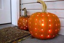 Halloween and Lovely autumn
