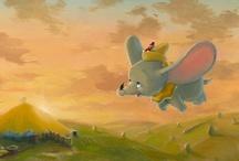 Disney Paintings / My Disney paintings