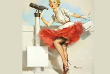 P is for the pin-ups