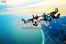 My bucket list / Things to tick off in my lifetime