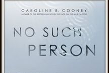 No Such Person / The cottage in this suspense novel is similar to a real house in Connecticut - where many summers I mostly sat on the porch, admired the river, and read a lot of books. I've included some photos from my time living there.