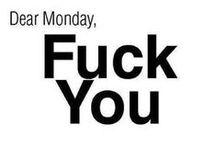 Monday/Maandag / day of the week