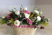 Cestas / Cestas de flores, cestas de plantas