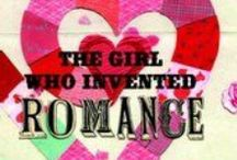 """The Girl Who Invented Romance / """"Sometimes there is heartbreak, but there can also be happily ever after. Teen girls will follow the complexities of dating, and the difference between falling in love, being in love, and really loving someone, portrayed in this inventive novel."""""""