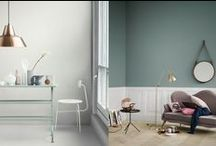 - Wall colors - / Supernice and trendy wall colors. And other wall ideas.