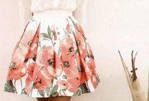 Skirts / by PomegranateSoda