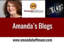 Amanda Hoffmann's Blogs / My personal blog, guest blogs, reflections on life and social media journey and my business articles Personal blog is https://amandahoffmann.com #socialmedia #podcast