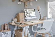 Organisation et aménagement création / Aménagement d'un espace de travail