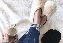 Snuggle Up in Slippers / Tall & Mid Height Slipper Boots, Booties, and Slip-Ons.