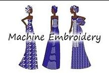 Embroidery: Machine