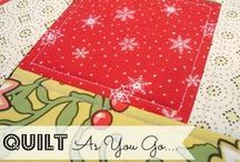 Quilt: QAYG / Quilt As You Go