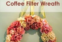 Coffee Decor / Coffee... it's not just for your mouth anymore.