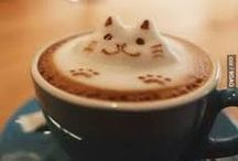 Coffee Art / Your mamma always told you not to play with your food... Mamma was wrong.