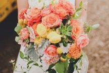 All things flowers! / Flower arrangements, centerpieces, bouquets, boutonnieres...weddings take a lot of flowers!