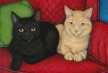 Heidi SHAULIS Cats  / by Frances Munro
