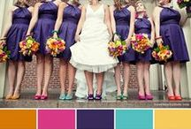 Colorful Weddings / Wedding color ideas, inspiration, and tips!