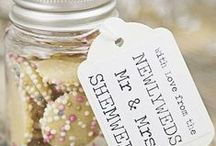 Wedding ideas / Various unusual ideas for favours, decor and everything weddings