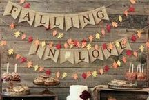 Fall Weddings / Fall/Autumn themed weddings!