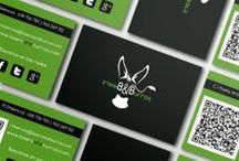 Diseño gráfico / Flyers, tarjetas de visita, trípticos, roll ups...
