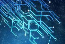 Network / #network #inspiration #geek #nerd #trend #printedcircuit