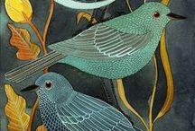 Linocut Ideas - Birds #1 / The 1st 500. / by Frances Munro