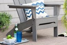 Backyard Style / Inspiration and tips for styling your backyard or outdoor living space!