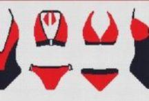 Lingerie e bikini.
