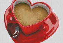Café, cacau e chocolate.